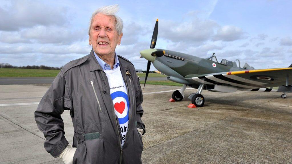 Squadron Leader Allan Scott.