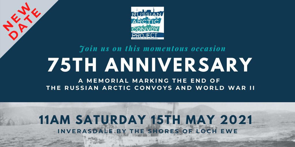 Memorial event held at the shores of Loch Ewe - 15TH MAY 2021.
