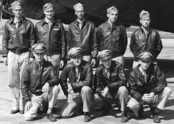 2nd Lt Lavies crew - August 1943.
