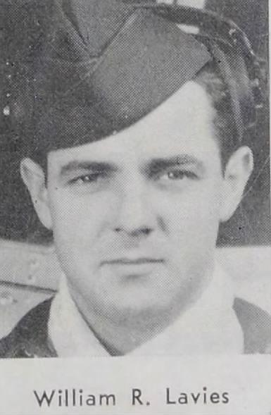 2nd Lt Willam R Lavies