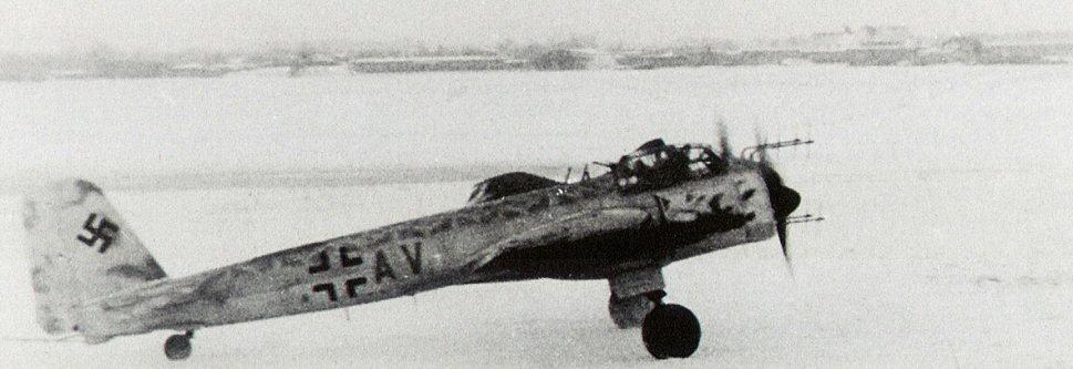Ju-88 of Hans Herman Müller