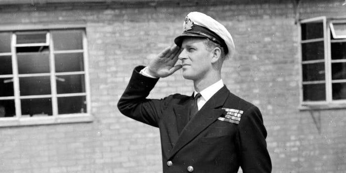 Lieutenant Philip Mountbatten